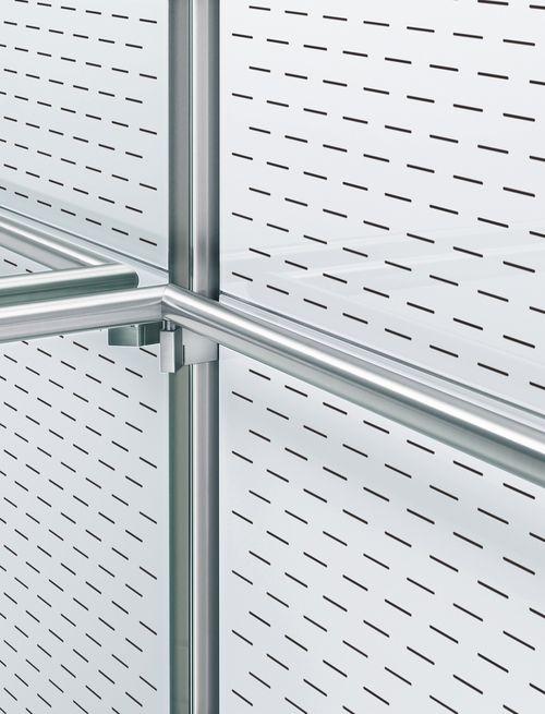 CG-X detail hand rail corner white