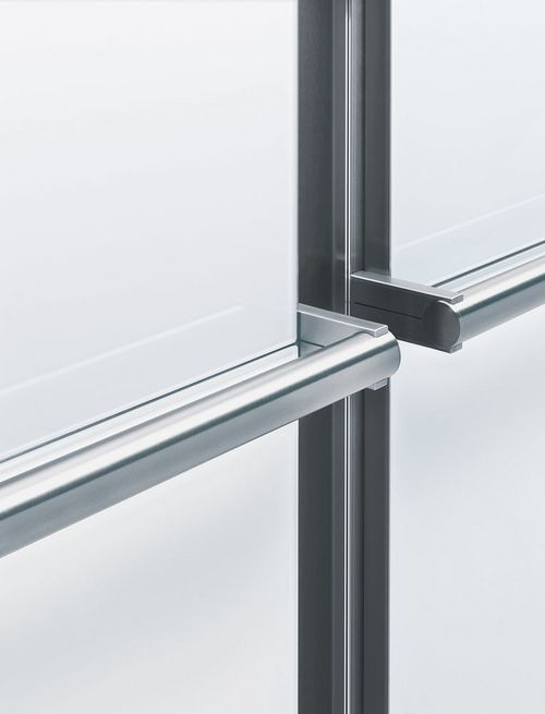 HL Hand Rail stainless steel, fine grind