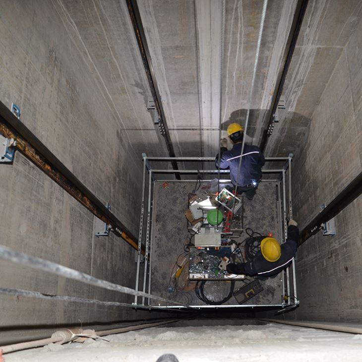 2 nguyên tắc về an toàn trong lắp đặt thang máy